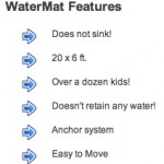 watermat features